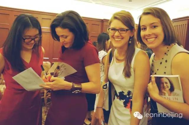 The original Lean In Beijing circle meets with Sheryl Sandberg in 2013